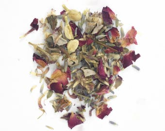 Love Spell Herbal Incense with Rose