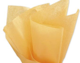 """Apricot Tissue Paper - 15"""" x 20"""" - 96 Sheets"""