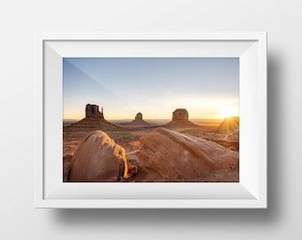 Monument Valley - Arizona Landscape Photograph