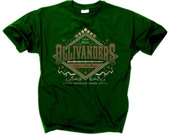 HARRY POTTER T SHIRT Ollivanders Makers Of Fine Wands