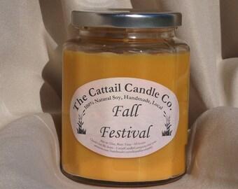 Fall Festival - 100% Soy Candle, 12 fl oz
