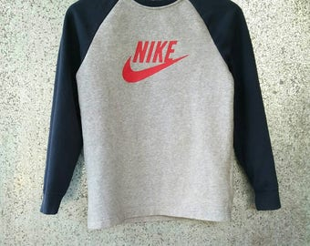 Nike sweatshirt big logo swoosh size L Youth