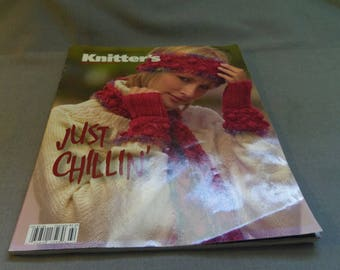 Knitting Patterns, Knitter's Universe Winter 2006, Magazine Back Issue, Sweaters, Cardigans, Pullovers, Coat