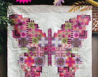 Sale Butterfly Quilt Pattern from Tula Pink