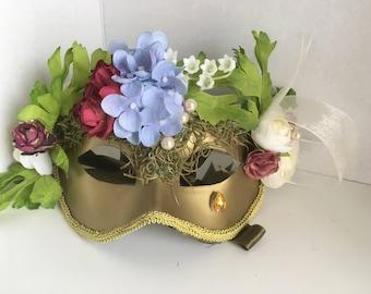 Handcrafted Garden Nymph Eye Mask
