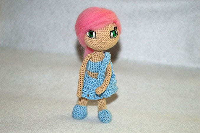 Amigurumi Doll Anime : Best crochet dolls images crochet toys