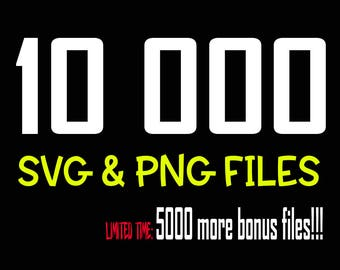 15000 SVG and PNG FILES Bundle Svg files for cricut Svg Fonts Svg files Svg bundle Cut File Bundle Svg Files for Silhouette Halloween Xmas