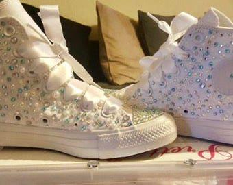 Pretty-n-bling Converse!