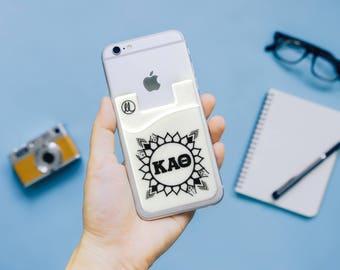 Kappa Alpha Theta Sunflower Phone Wallet