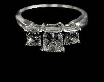3STONE DIAMOND RING