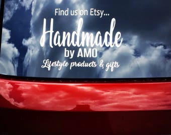 Cute Car Decals Etsy - Custom vinyl car decals canada