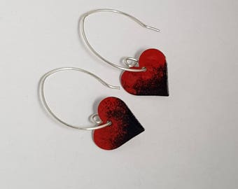Black Magic Heart Earrings