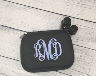Personalized Essential Oil Travel Case