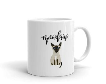 Meowderino MFM mug