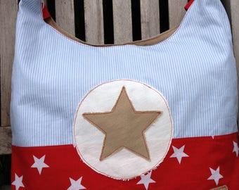 Shoulder bag shoulder bag of stars