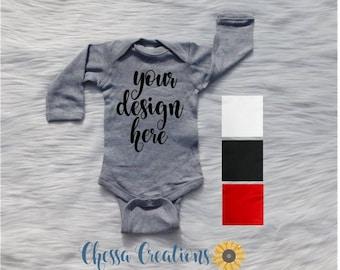 Custom baby gift etsy custom long sleeve baby bodysuit long sleeve baby shirt custom baby bodysuit baby negle Choice Image