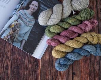 Preorder: BFL Masham Garnpakke til Birkin Sweater fra Laine 2 //  BFL Masham Yarn kit to Birking sweater from Laine 2