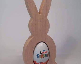 Oak Kinder Egg Rabbit/Easter Gift