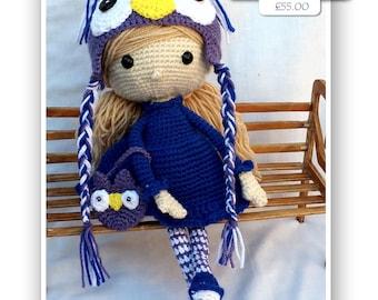 CLAIRE  Precious Poppets Handcrafted Amigurumi Designer Doll