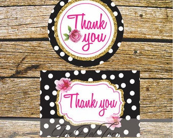 Cards of thanks, wedding, Baby Shower, bachelorette, birthday.