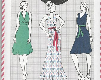Cotton+Chalk Ladies Dress Pattern No. 07