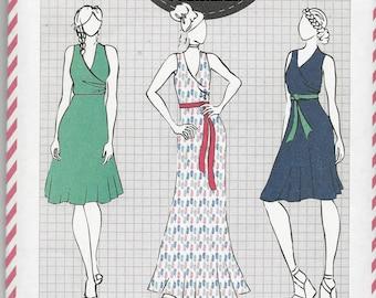 Cotton+Chalk Ladies Dress Pattern No. 07