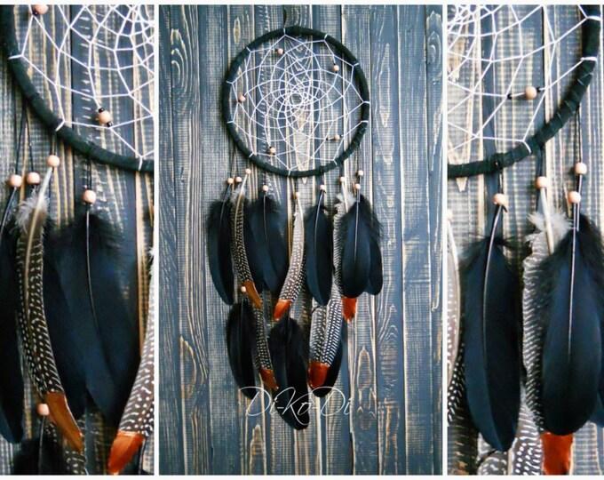 Dreamcatcher wall hanging Black large Modern dream catcher Boho Home Décor Wall art Large dream catcher wall Boho décor Home living Décor