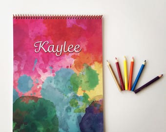Kid's Personalized Sketchbook