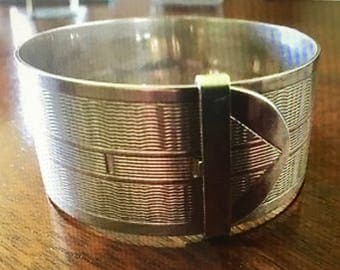 Vintage Sterling Silver Bangle/Bracelet - 1947