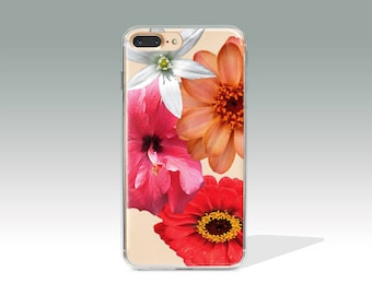 iPhone 7 Plus Case Floral iPhone 7 Case Silicone iphone7 Plus Case Protective  iPhone7 Plus Case i Phone 7 Case Rubber Birthday Gift //103