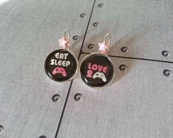Geek - Eat sleep geek jewelry