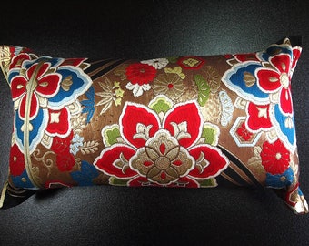 Cushion of Obi (Kimono) Japanese Silk  0000095