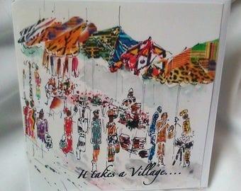 It takes a village....