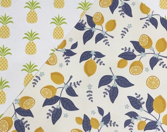 You Pick Lemons Pineapples Happy Planner Dashboard Insert Planner Accessories Mambi Planner Supplies Back to School