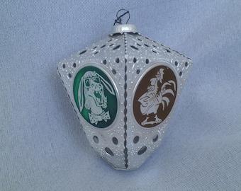 The Musicians of Bremen /Christmas Decoration /Christmas Ornament / Soviet Toy Christmas /Soviet Vintage 1980's
