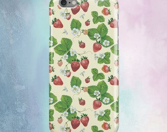 Strawberry iPhone 7 Case Phone 7 Case Phone Plus 7 iPhone Case iPhone Phone 8 Plus iPhone Case Phone X iPhone Case iPhone 6S Case CZ1273