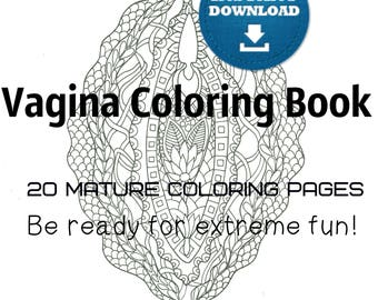 Naughty coloring | Etsy