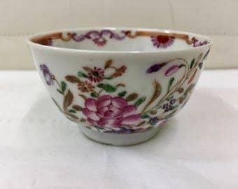 Antique Oriental Porcelain Tea Bowl circa 1790