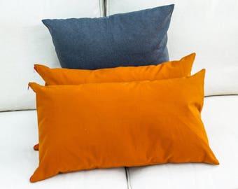 Orange Cushion, Orange Pillow, Orange Throw Pillow, Orange Accent Pillow, Orange Bedding, Scandinavian Pillow, Scandinavian Cushion, Orange