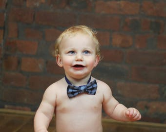 Toddler baby photography prop boy bowtie owl