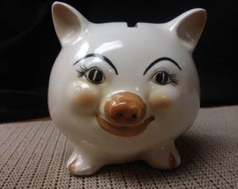 Pig bank with no stopper