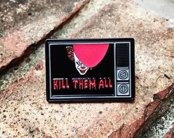 IT Enamel Pin