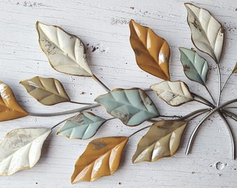 Leaf Wall Decor, Metal Leaf Wall Art, Leaf Decor, Leaf Wall Decor,