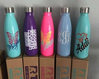 Personalized water bottles
