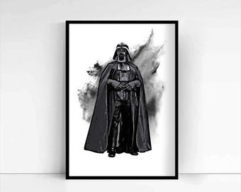 Star Wars 'Darth Vader' A4 Portrait