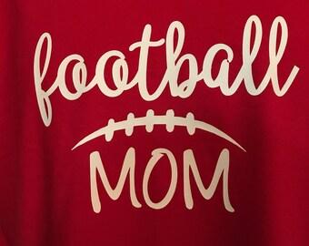 Football Mom Tshirt, Football, ladies, S-3x