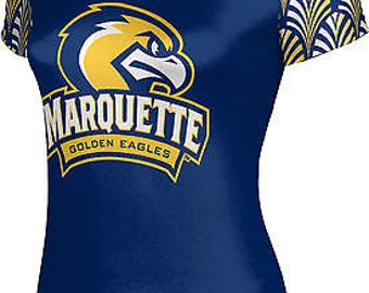 ProSphere Women's Marquette University Deco Tech Tee (MU)