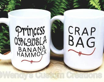 FriendsFavorite.- Princess Consuela Banana Hammock- Crap Bag-Funny His & Her mugs-Wedding Gifts For Couple - Gift for him  - Father's day