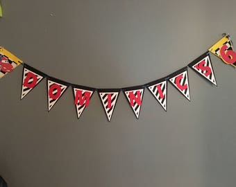 Disney Cars Birthday Banner (custom)