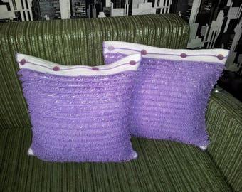 Pillow Crochet pillow Decorative pillow Crochet Handmade cushion Crochet pillowcase Crochet pillow cover